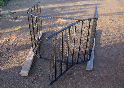 Fire Guard With Access Gate