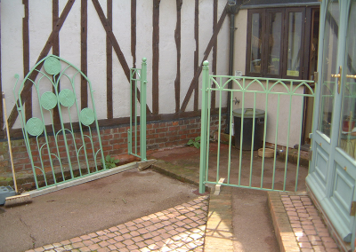 Removeable Gate and Railings