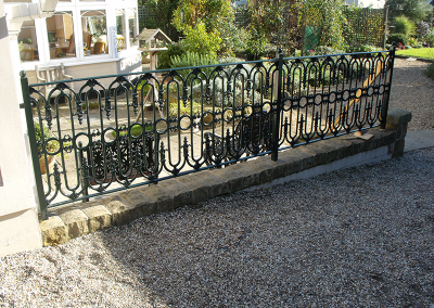 Steel and Cast Iron Railings